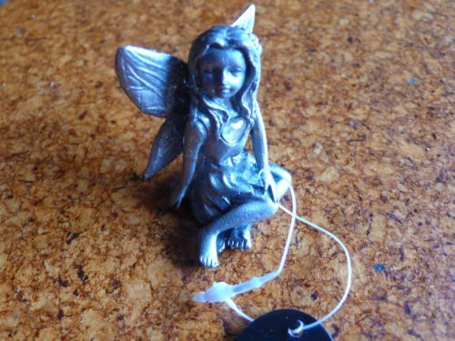 Birthstone June, Pewter Fairy