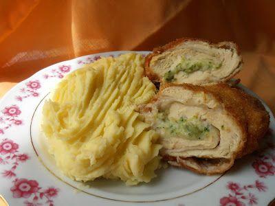 Csilla konyhája, mert enni jó!: Brokkolival töltött csirkemell