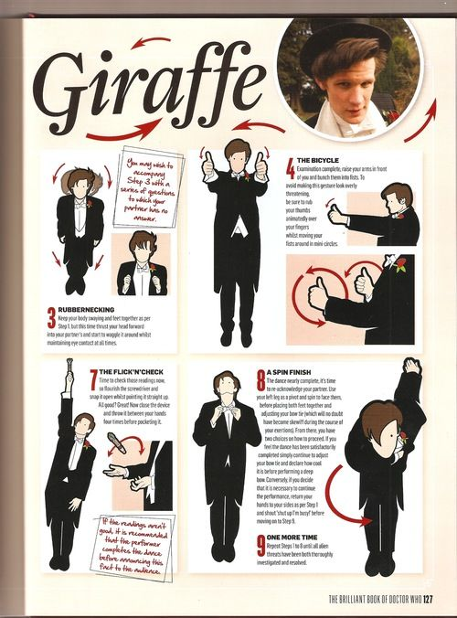 the Musical Misfit from a Synthetic Sea, DO THE DRUNK GIRAFFE!! (From The Brilliant Book of Doctor Who)