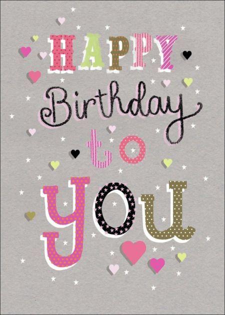 Jenny Wren - Happy Birthday Type