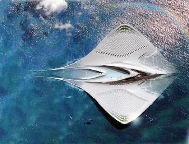 Los proyectos más asombrosos para crear ciudades marinas     Merians, el laboratorio flotante  El arquitecto francés Jacques Rougerie es un ...