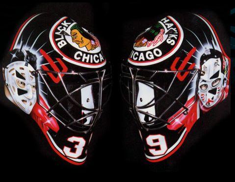 Cristobal Huet - Tony Esposito/Murray Bannerman tribute mask