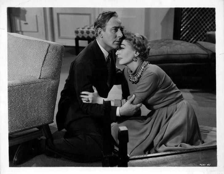 """This is anoriginal b/w still from the film """"Torch Song"""" released in 1953. This still was sent to theatres to be displayed in the lobby to promote the film's local engagement. 