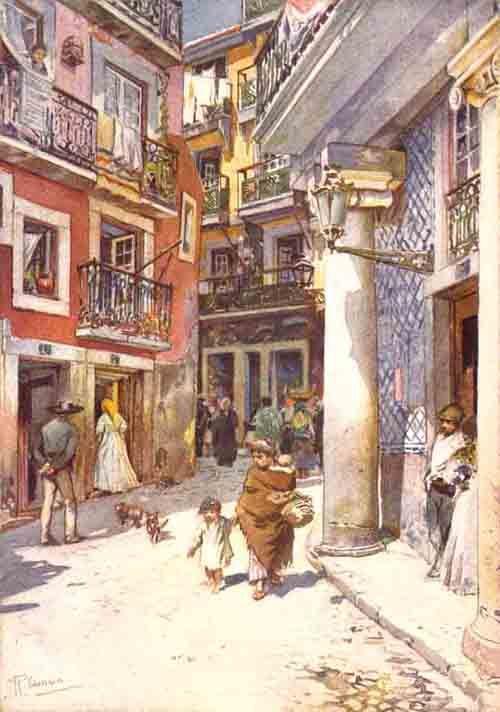 Rua de S. Pedro ao Largo do Chafariz de Dentro