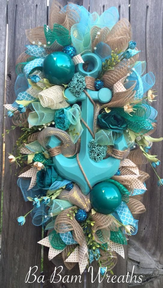 bon voyage wreath