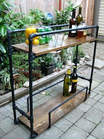 Lilikoi Joy: 16 Favorite Industrial Pipe Furniture Projects