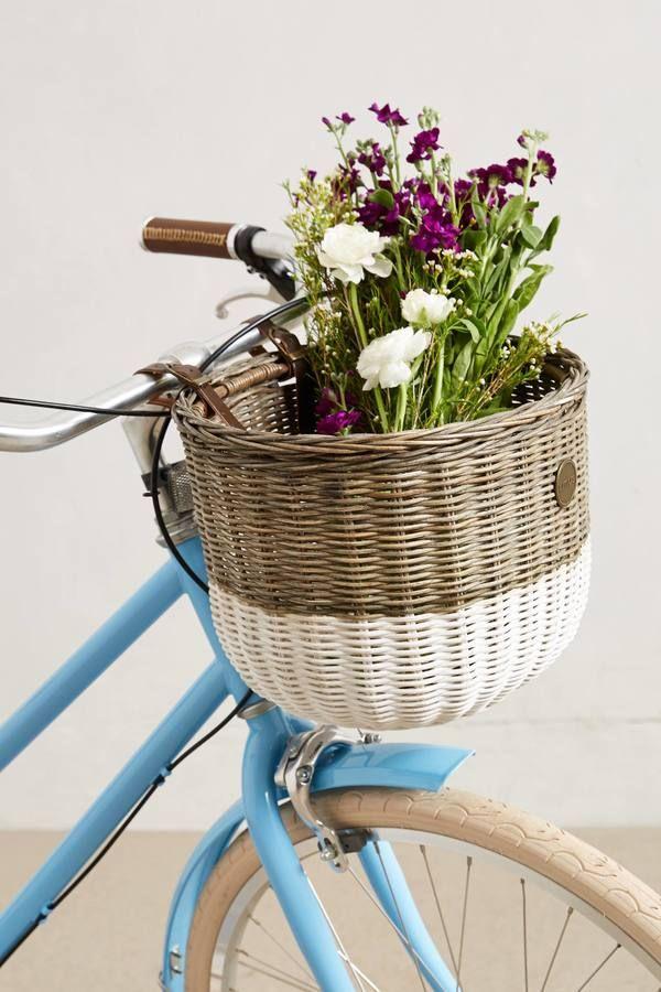 Dip-Dyed Bike Basket #anthrofave