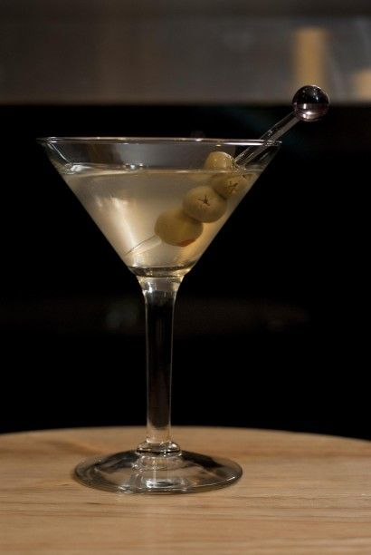 Dirty Martini   Now there's my favorite Martini, only made with gin ...