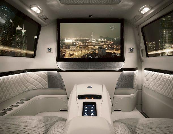 Mercedes Benz Viano Vision Diamond Luxury VehicleCar InteriorsMercedes