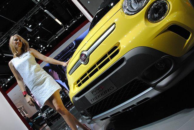 #Fiat #500LTrekking at 65th International Motor Show IAA 2013 in Frankfurt