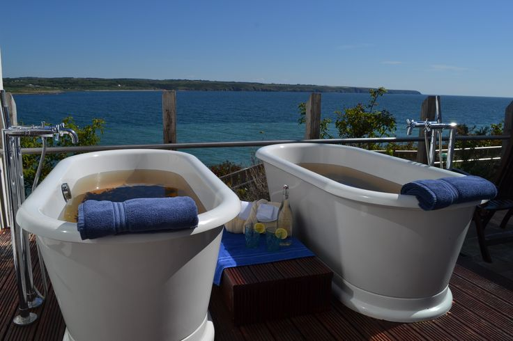 Seaweed Baths - can be enjoyed individually or as a couple