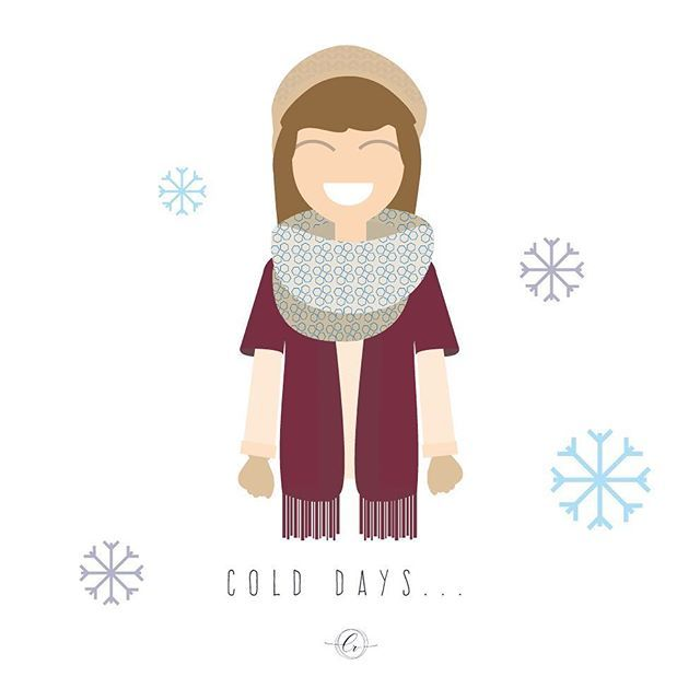 Con Diciembre llegó la ola de frío.... brrr❄️❄️ #cold #winter #oladefrio #december #hidecember #flatdesign #illustrator #graphicart #graphidesign #design #vector #vectorillustration