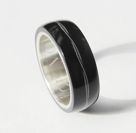 how to make a wood and metal ring