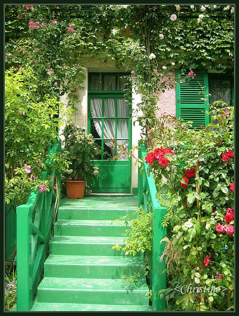 monet's house - i'm so going there someday!