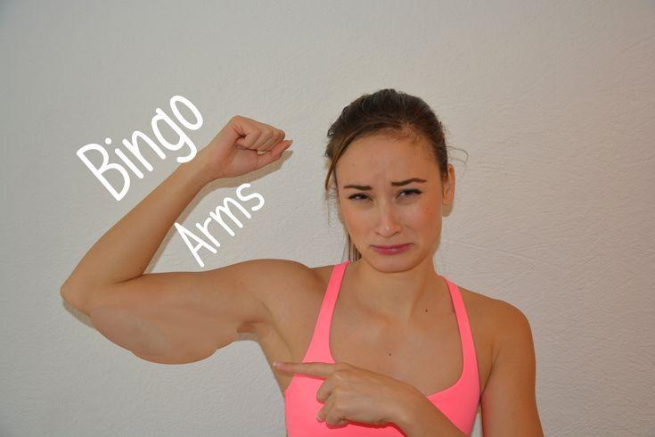 Das beste Workout gegen Winkearme - Schlaffe Haut bekämpfen - straffe Arme