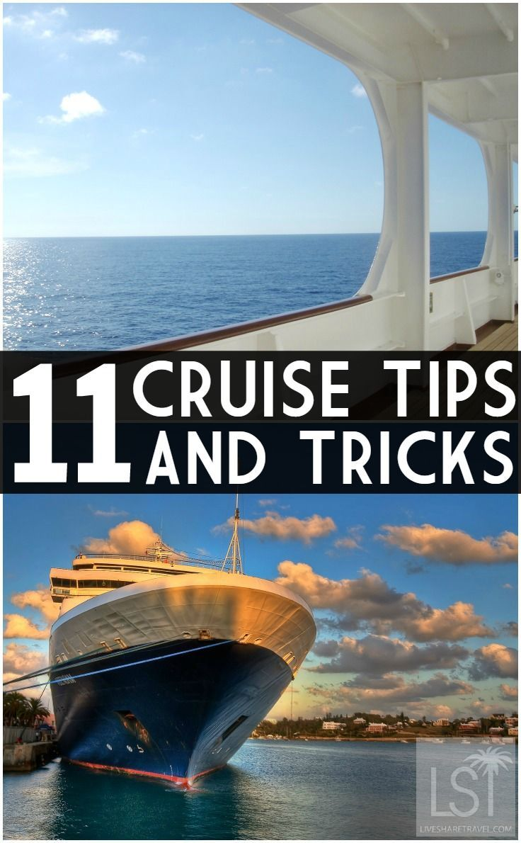 Want to make the best of a break at sea? We've put together our best cruise tips and tricks to help you find the best travel deals and make the most of a cruise experience.