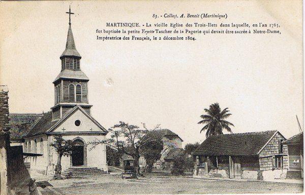Les Trois-Îlets - église