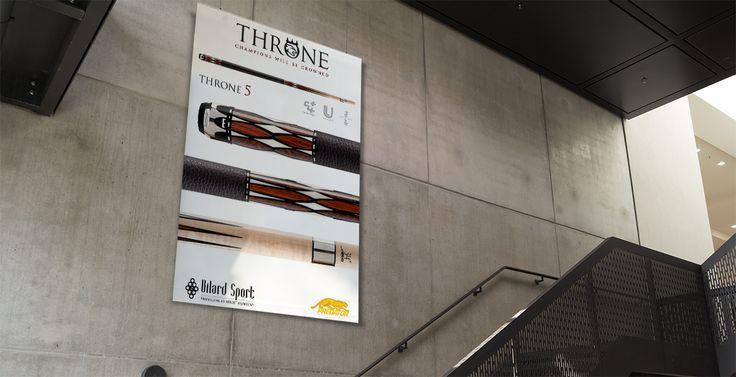 Bilard Sport new Predator Throne promotion! What a great cue...