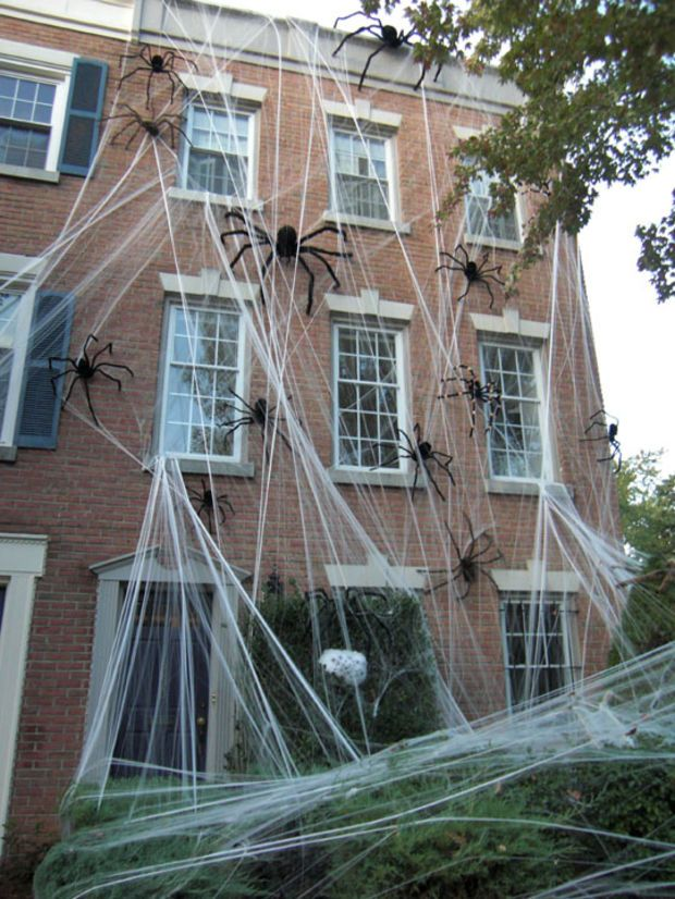 35 best Trick or Treat? images on Pinterest Happy halloween - large outdoor halloween decorations