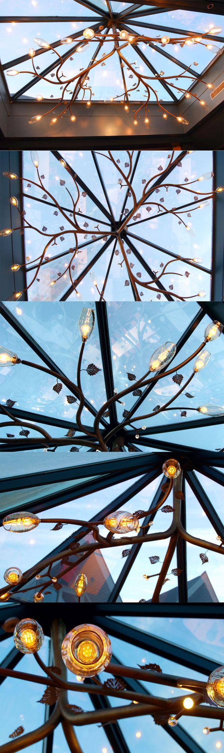 Big Lamp Hotel Ullensvang. Noruega.