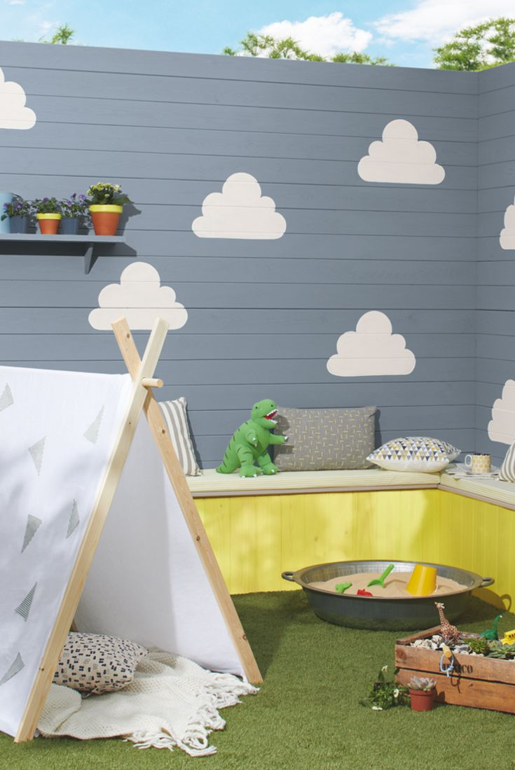 Create a space for you and your kids to hang out in with Cuprinol Family Retreat scheme. Download the Cuprinol Lookbook to find out more.