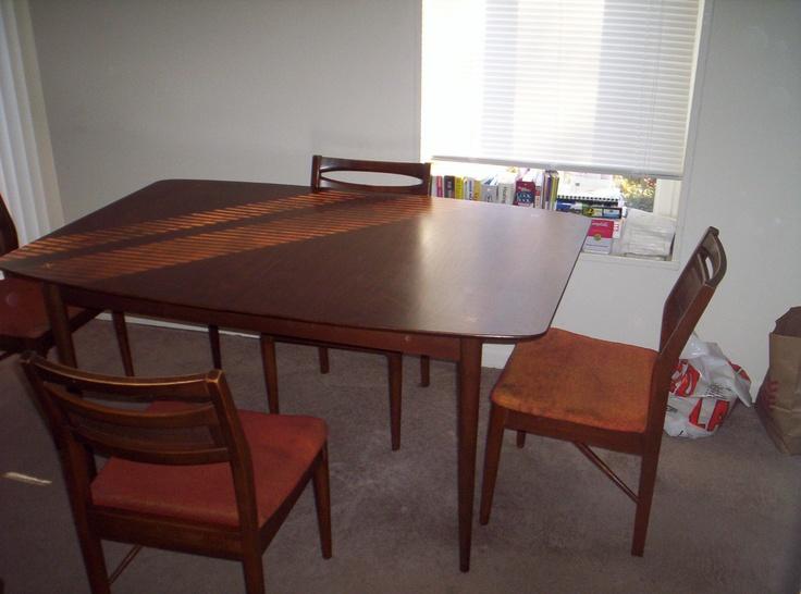 american of martinsville dining room set | American of martinsville dining room set