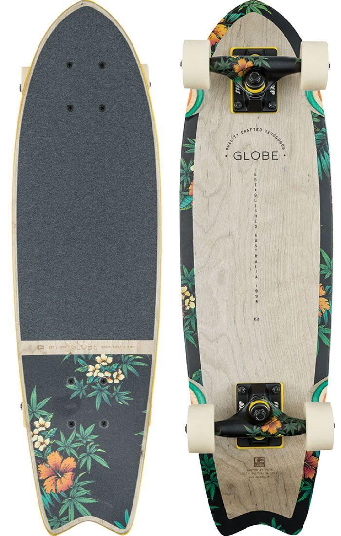 "Globe Sagano 26"" Complete Skateboard - Free Shipping"