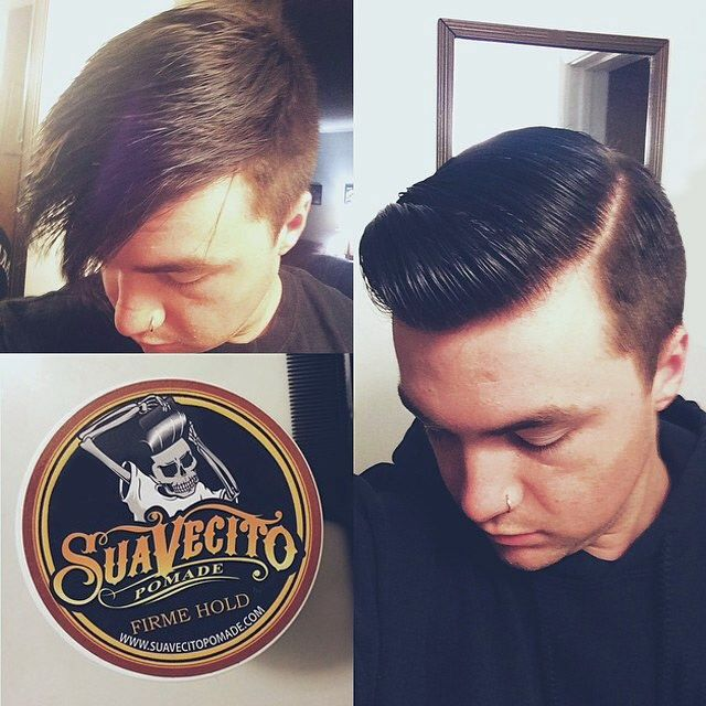 Pomade Hairstyles find this pin and more on nsan evlatlar Take Your Hair From Downer To Dapper W Suavecito Pomade Wwwpomadecom