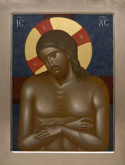 Christ in the Tomb (The King of Glory), catalog of St Elisabeth Convent. Made to order. #CatalogOfGoodDeeds   #icon #iconography #orthodoxicon #orthodoxiconography #paintedicon #iconsinoklads #mountedicons #buyicon #ordericon #handpainted #lacqueredicon #iconpainters #iconographers #MotherOfGod #Theotokos #HolyTheotokos #VirginMary #Christ #JesusChrist #Savior #Pantocrator #ChristThePantocrator #familyicon