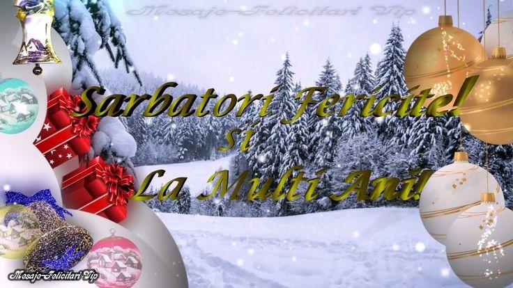 Sarbatori Fericite - La Multi Ani | Felicitare - Urare pentru prieteni  ...