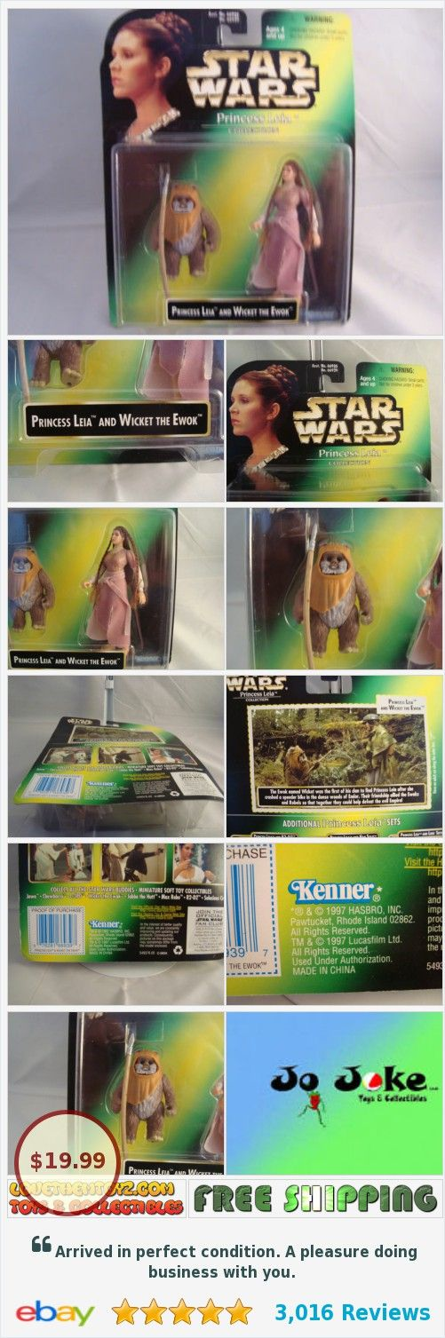 STAR WARS-PRINCESS LEIA&WICKET-EWOK-CARRIE FISHER-.COLLECTION-1997-KENNER-RARE #kenner1997 lovethemtoyz.com https://www.ebay.com/itm/STAR-WARS-PRINCESS-LEIA-WICKET-EWOK-CARRIE-FISHER-COLLECTION-1997-KENNER-RARE-/381902211642?hash=item58eb254a3a