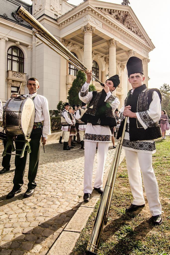Iasi Romania traditional clothing port romanesc