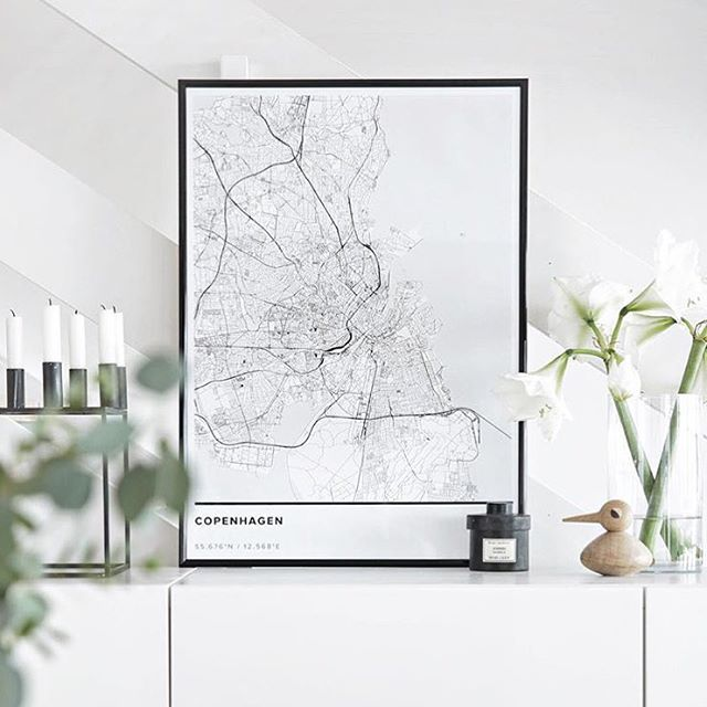 Designa din egen kartposter - Mapiful.com