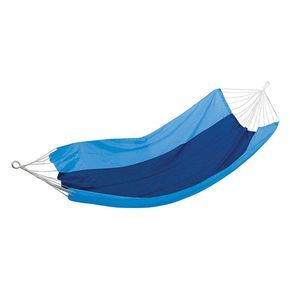 Stansport Malibu Packable Nylon Single Hammock Blue/Sky Blue - 30510-57