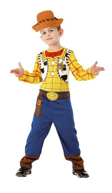 Déguisement Toy Story™ Woody™ garçon  : Déguisement Woody™ (Toy Story™) qui comprend une combinaison imprimée et un chapeau assorti pour se transformer en un clin d'œil en cowboy Woody™. Une...