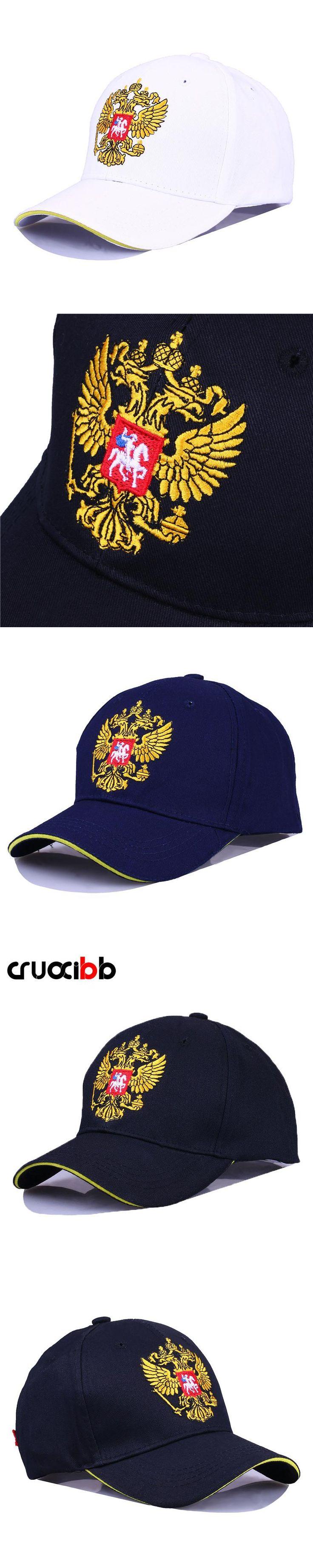CRUOXIBB Brand Baseball Caps Russian Emblem Embroidery Snapback  Sports Hats Bone Men Women Patriot Caps Fashion Outdoor Hat
