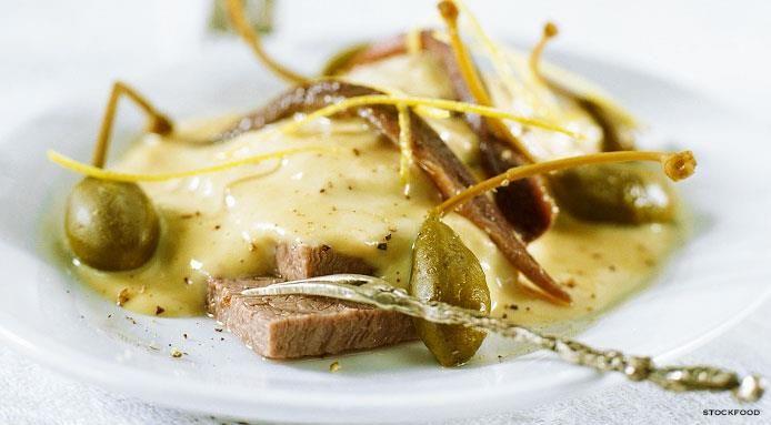 Veal With Tuna Sauce (Italian Vitello Tonnato)