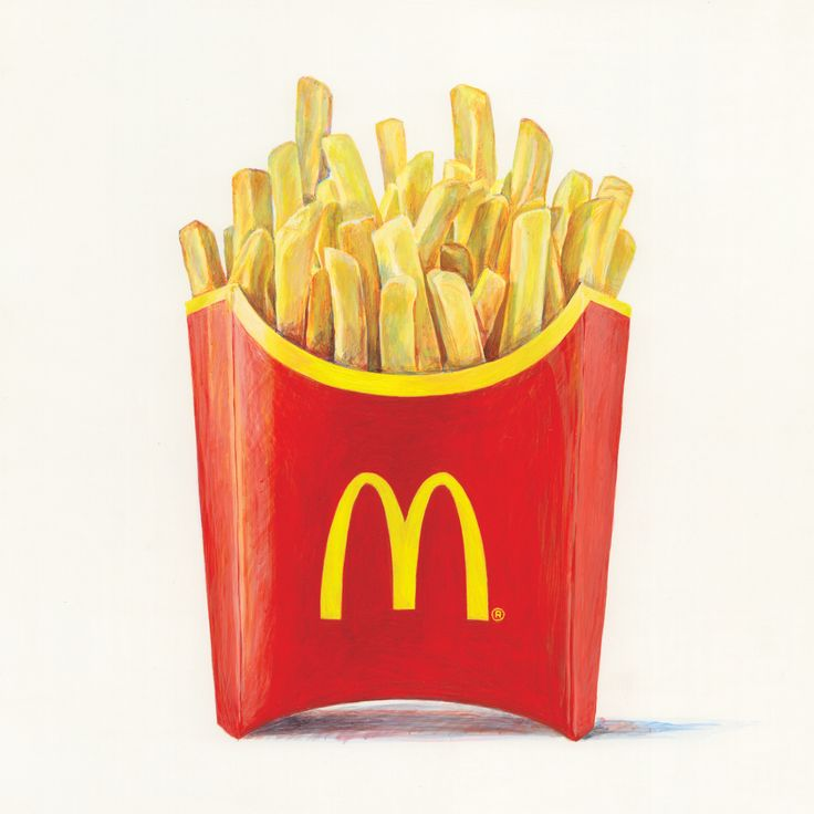 Jöel Penkman- Mcdonalds Campaign, Fries