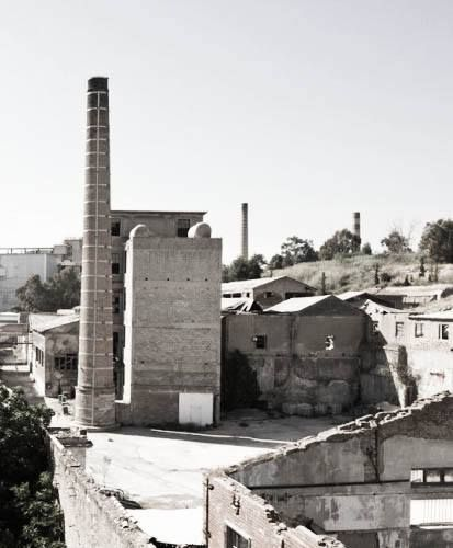 The Old Oil-Factory.