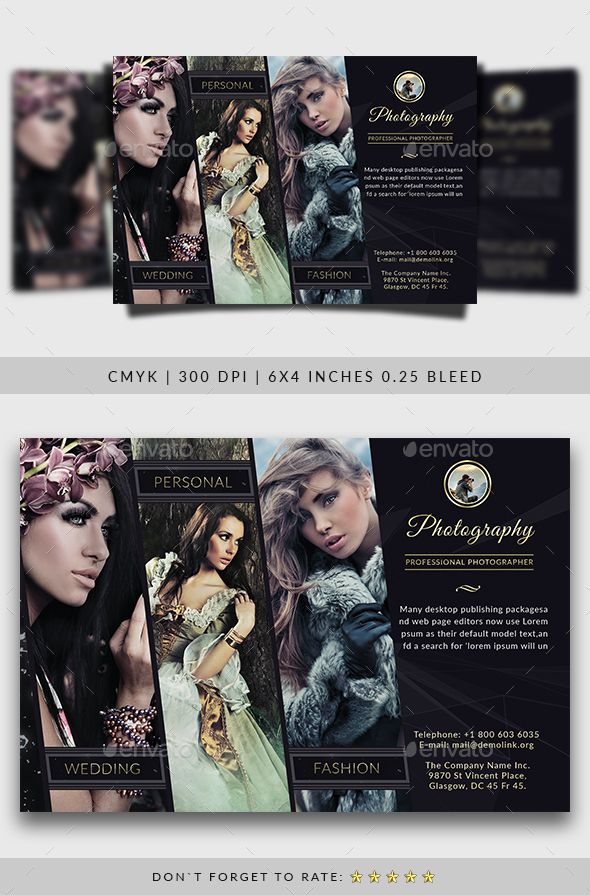 Photography Flyer Template - Commerce Flyers                                                                                                                                                                                 More