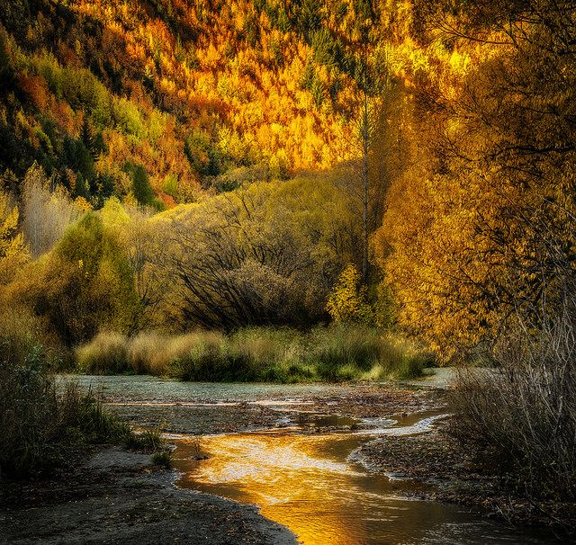 Colors of Arrowtown Otago New Zealand