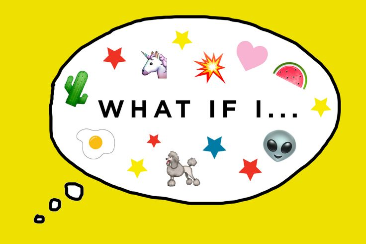 "Take a brain break and share the weird thoughts you have in public that always seem to begin with the question, ""What if I..."""