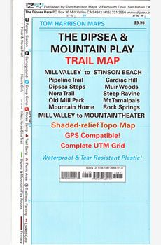 Mill Valley to Stinson Beach / Mill Valley to Mountain Theater Trails included: Pipeline Trail Cardiac Hill Dipsea Steps Mountain Homes Mount Tamalpais Muir Woods Nora Trails Steep Ravine Rock Springs