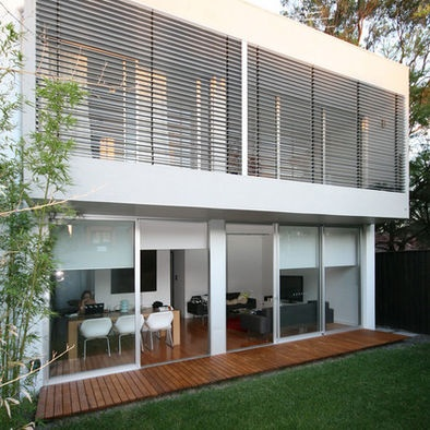 Contemporary Exterior Louvers Design, Pictures, Remodel, Decor and Ideas - page 3