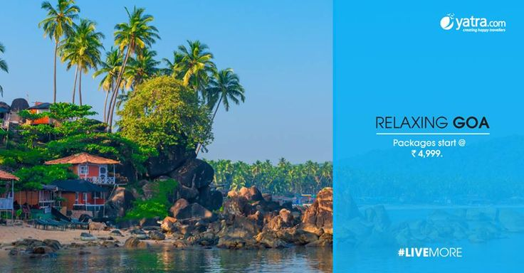 Holidays in Goa - Find complete list of Goa tour and travel packages with available deals. Book Goa holiday packages online with Yatra.com and explore all tourist places at lowest price.