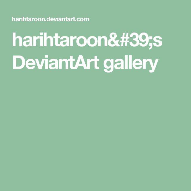 harihtaroon's DeviantArt gallery