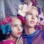 Head wear in felt by designer Katelyn Aslett