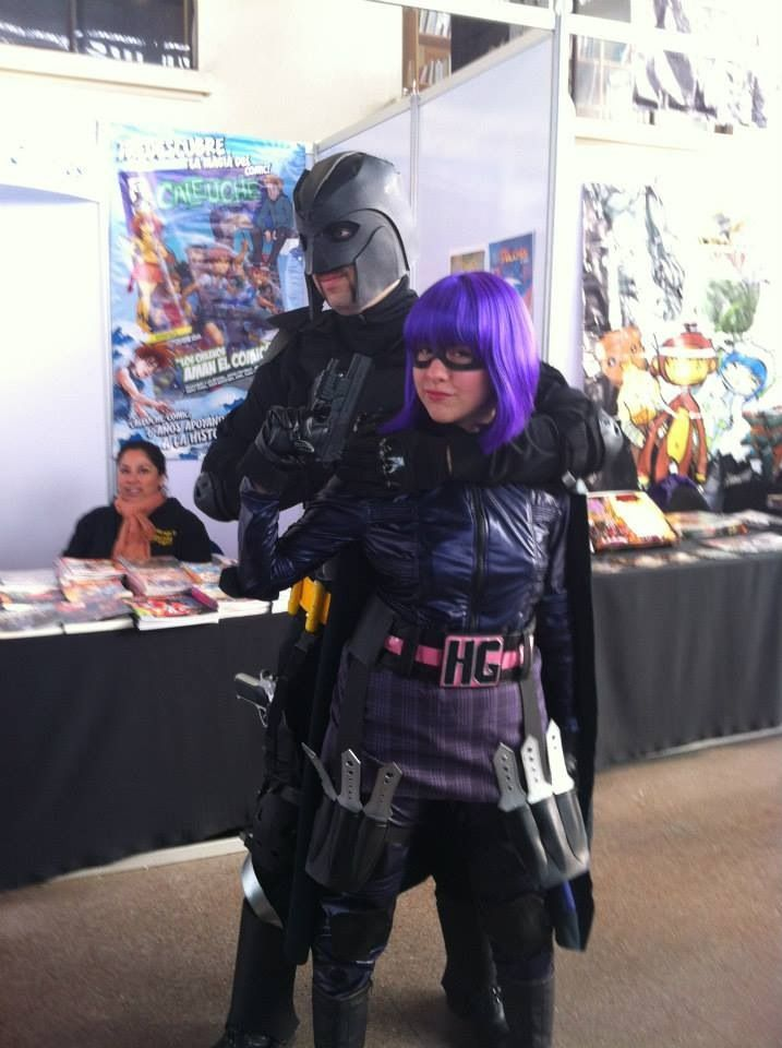ComicCon Chile 2013 || Big Daddy and Hit Girl