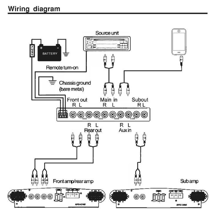 car equalizer wiring diagram wiring diagram for car audio equalizer