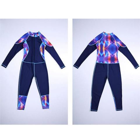 Childs swimming Clothes w/Zipper, Kids One Piece Swimwear, Girl Professional Swimming Suits